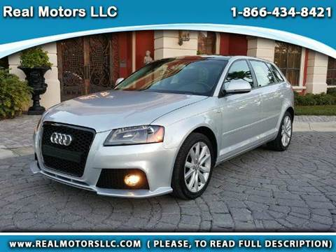 2009 Audi A3 for sale at Real Motors LLC in Clearwater FL