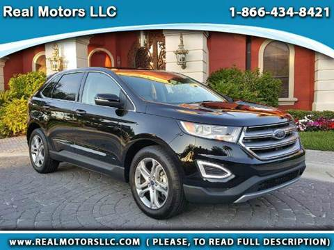2016 Ford Edge for sale at Real Motors LLC in Clearwater FL