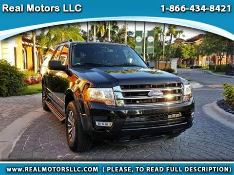 2015 Ford Expedition EL for sale at Real Motors LLC in Clearwater FL