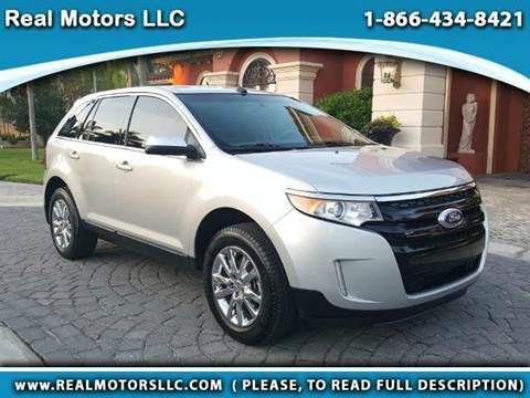 2014 Ford Edge for sale at Real Motors LLC in Clearwater FL