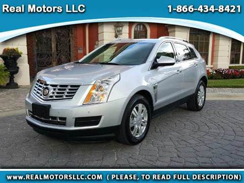 2016 Cadillac SRX for sale at Real Motors LLC in Clearwater FL