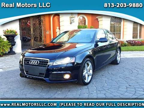 2011 Audi A4 for sale at Real Motors LLC in Clearwater FL