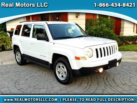 2016 Jeep Patriot for sale at Real Motors LLC in Clearwater FL