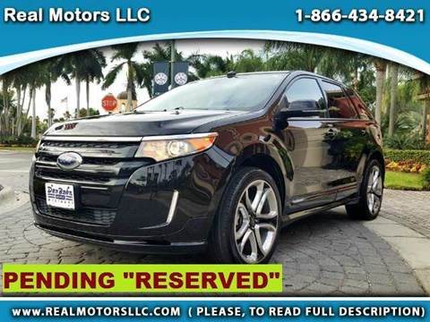 2013 Ford Edge for sale at Real Motors LLC in Clearwater FL