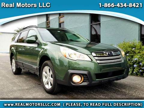 2013 Subaru Outback for sale at Real Motors LLC in Clearwater FL