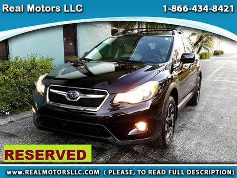 2013 Subaru XV Crosstrek for sale at Real Motors LLC in Clearwater FL