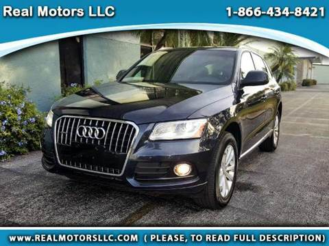 2014 Audi Q5 for sale at Real Motors LLC in Clearwater FL