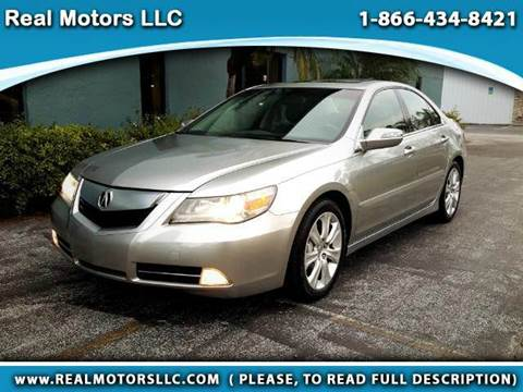 2010 Acura RL for sale at Real Motors LLC in Clearwater FL