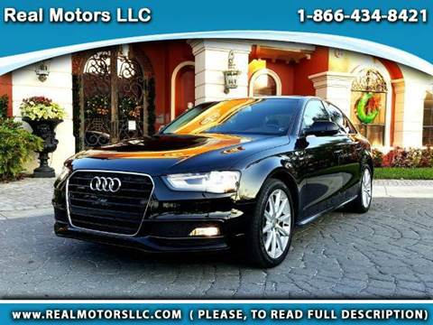 2014 Audi A4 for sale at Real Motors LLC in Clearwater FL