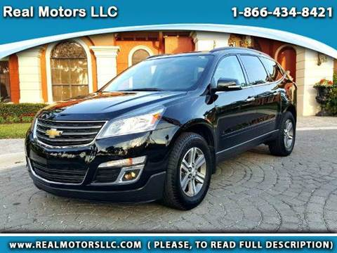 2016 Chevrolet Traverse for sale at Real Motors LLC in Clearwater FL