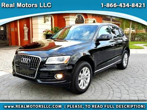 2016 Audi Q5 for sale at Real Motors LLC in Clearwater FL