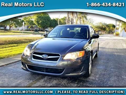 2009 Subaru Legacy for sale at Real Motors LLC in Clearwater FL