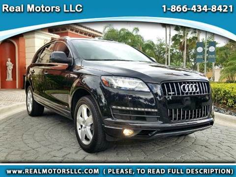 2015 Audi Q7 for sale at Real Motors LLC in Clearwater FL