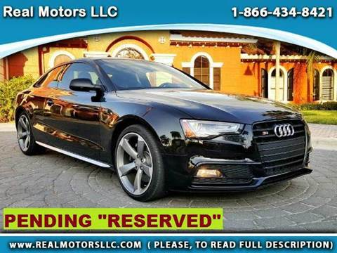 2016 Audi S5 for sale at Real Motors LLC in Clearwater FL