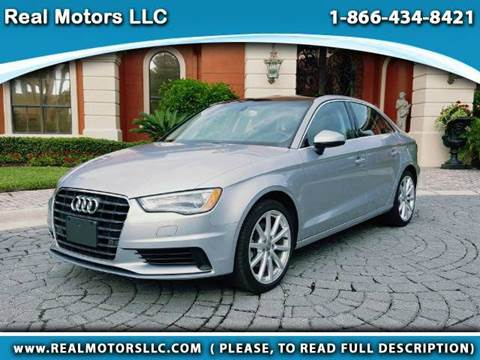 2015 Audi A3 for sale at Real Motors LLC in Clearwater FL