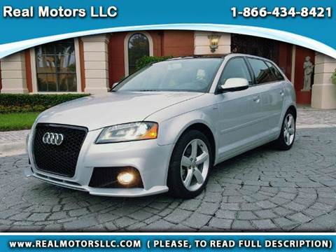 2013 Audi A3 for sale at Real Motors LLC in Clearwater FL