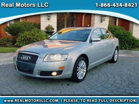 2006 Audi A6 for sale at Real Motors LLC in Clearwater FL