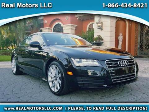 2015 Audi A7 for sale at Real Motors LLC in Clearwater FL