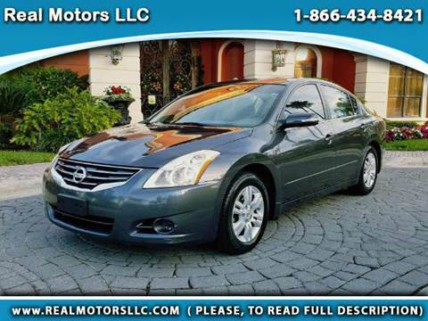 2012 Nissan Altima for sale at Real Motors LLC in Clearwater FL