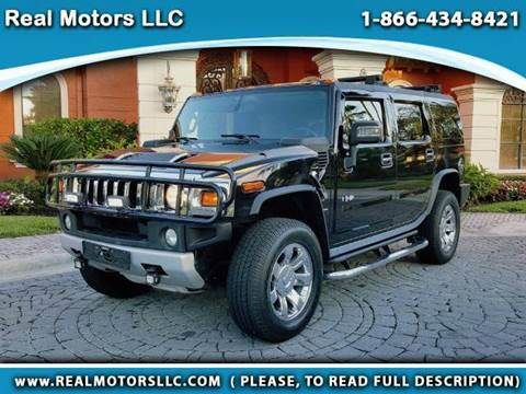 2009 HUMMER H2 for sale at Real Motors LLC in Clearwater FL