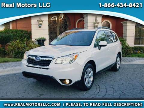 2014 Subaru Forester for sale at Real Motors LLC in Clearwater FL