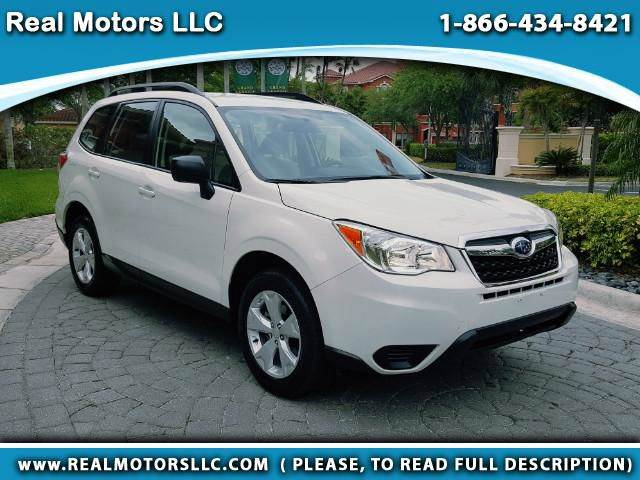 2016 Subaru Forester for sale at Real Motors LLC in Clearwater FL