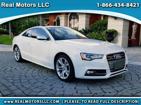 2017 Audi S5 for sale at Real Motors LLC in Clearwater FL