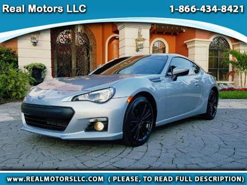 2015 Subaru BRZ for sale at Real Motors LLC in Clearwater FL