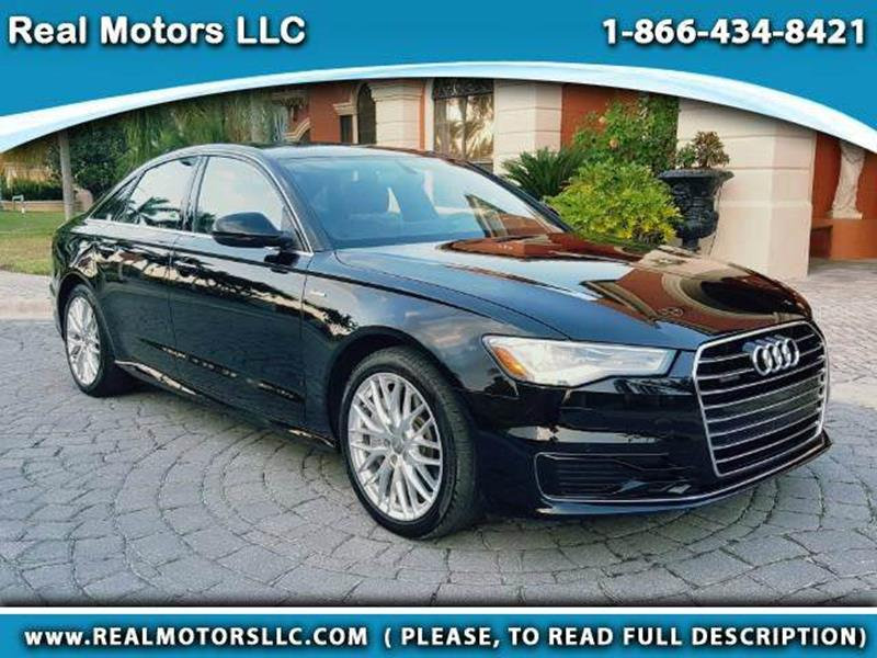 2016 Audi A6 for sale at Real Motors LLC in Clearwater FL