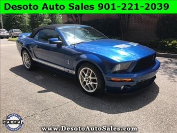 2008 Ford Shelby GT500 for sale in Olive Branch, MS