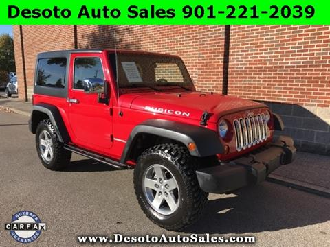 2012 Jeep Wrangler for sale in Olive Branch, MS