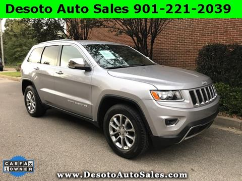 2016 Jeep Grand Cherokee for sale in Olive Branch, MS