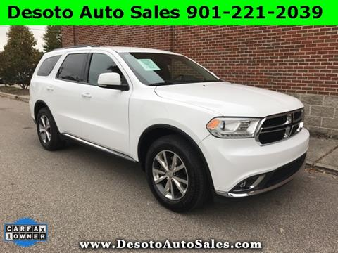2016 Dodge Durango for sale in Olive Branch, MS