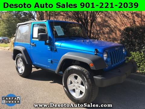 2015 Jeep Wrangler for sale in Olive Branch, MS