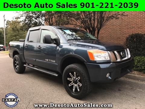 2014 Nissan Titan for sale in Olive Branch, MS