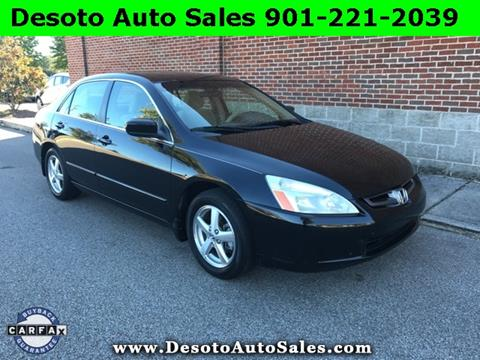 2004 Honda Accord for sale in Olive Branch, MS