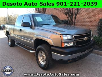 2006 Chevrolet Silverado 2500HD for sale in Olive Branch, MS