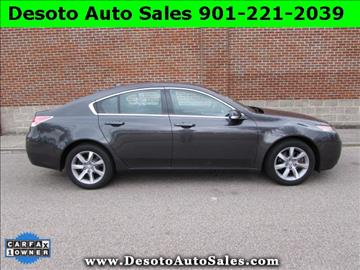 2013 Acura TL for sale in Olive Branch, MS