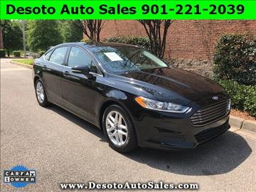 2016 Ford Fusion for sale in Olive Branch, MS