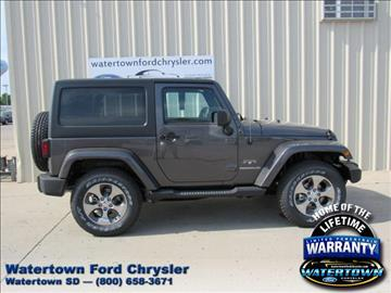 2017 Jeep Wrangler for sale in Watertown, SD