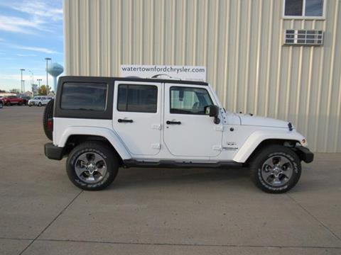 2017 Jeep Wrangler Unlimited for sale in Watertown, SD