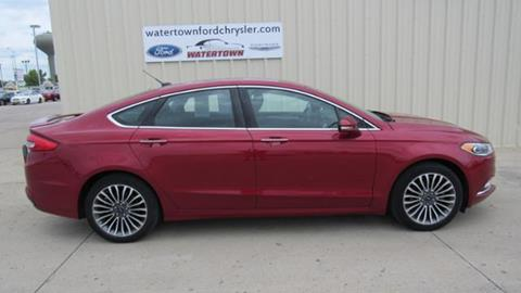 2017 Ford Fusion for sale in Watertown, SD