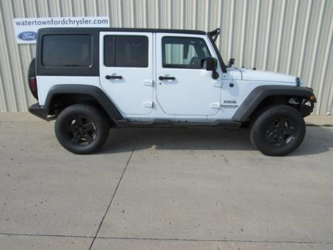 2014 Jeep Wrangler Unlimited for sale in Watertown, SD