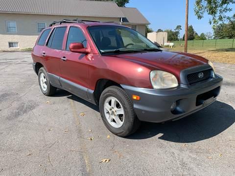 2004 Hyundai Santa Fe for sale in Corryton, TN