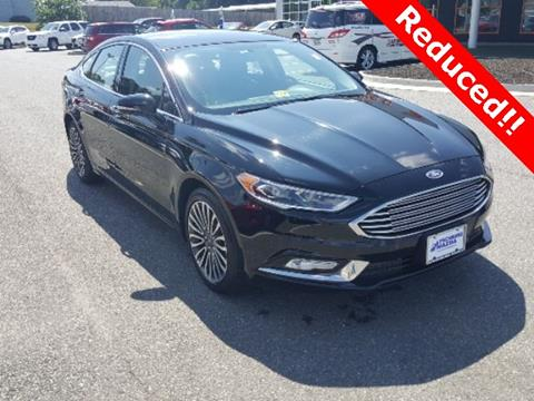 2017 Ford Fusion for sale in Lynchburg, VA