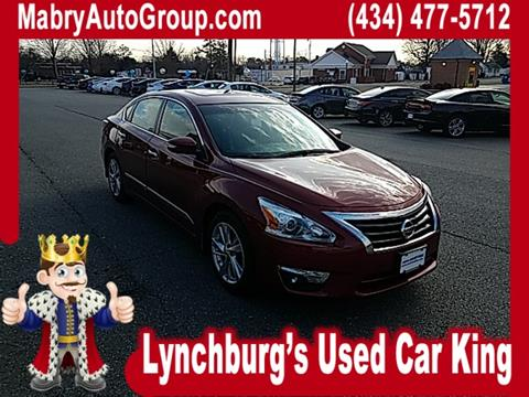 2015 Nissan Altima for sale in Lynchburg, VA