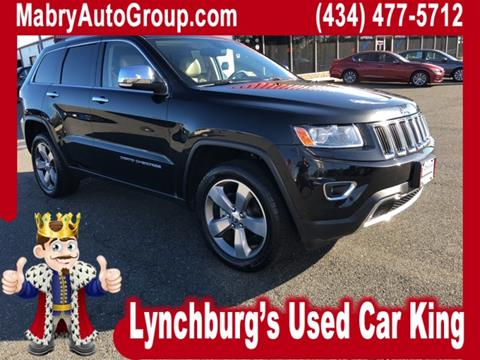 2014 Jeep Grand Cherokee for sale in Lynchburg, VA