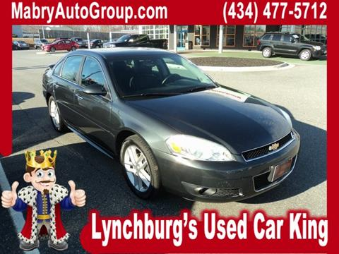 chevrolet impala for sale in lynchburg va. Black Bedroom Furniture Sets. Home Design Ideas