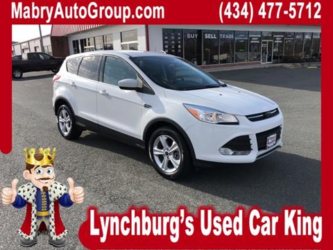 used ford escape for sale in lynchburg va. Black Bedroom Furniture Sets. Home Design Ideas