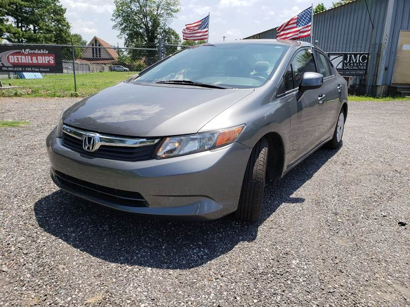 2012 Honda Civic LX 4dr Sedan 5A   North Little Rock AR